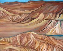 Wüste, Israel, Negev, Malerei