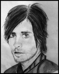 Bleistiftzeichnung, Jared leto, Menschen, Zeichnungen
