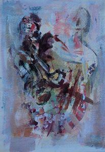 Malerei, Abstrakt, Spiegel