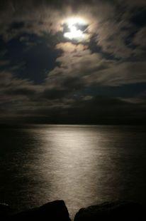 Mond, Ostsee, Magie, Zauber