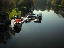 Boot, Landschaftsfotografie, Sommer, Halle