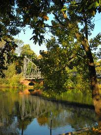 Saale, Kunstfotografie, Fluss, Brücke