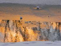 Saale, Landschaftsfotografie, Winter, Kunstfotografie