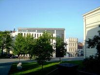 Universität, Sommer, Halle, Fotografie