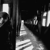 Frau, Fotografie, Surreal