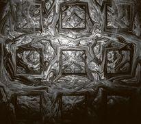 Struktur, Enge, Schwarz weiß, Zweifarbig