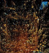 Abend, Spaziergang, Herbstwald, Digital
