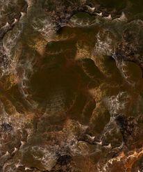 Brunnen, Tief, Digital, Abstrakt