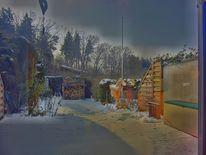 Winter, Frost, Fotografie, Ausblick