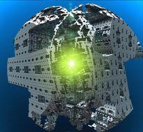Energie, Raumschiff, Bau, Digital