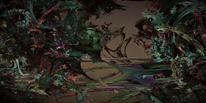 Tod, Grün, Helm, Digitale kunst