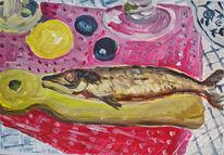 Fisch, Dekoration, Stillleben, Essen