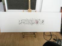 Mrmonkey, Schilder, Blumen, Graffiti