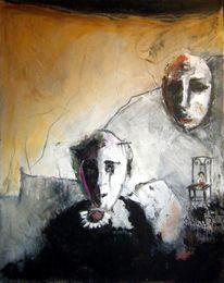 Malerei, Besuch