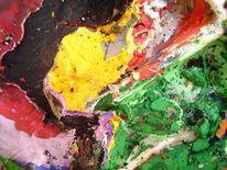 Bunt, Makro, Acrylmalerei, Künstlermaterial
