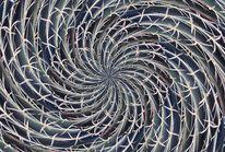 Bildbearbeitung, Kaleidoskop, Kaktus, Digital