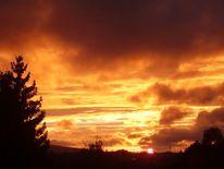 Sonne, Panorama, Farben, Natur
