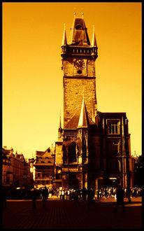 Rathaus, Marktplatz, Prag, Fotografie