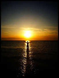 Meer, Sonne, Sonnenuntergang, Fotografie