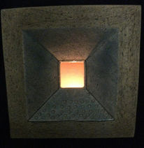 Lichtobjekt, Beleuchtung, Keramik, Kunsthandwerk