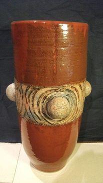 Vase, Keramikarbeit, Bodenvase, Kunstkeramik