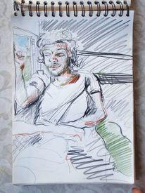 Zeichnung, Indien, Malerei