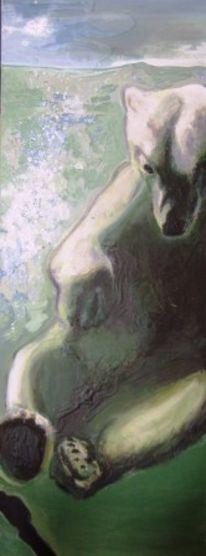 Ruprechter, Ölmalerei, Österreich, Unterwasser