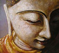 Buddhismus buddha religion, Malerei, Figural, Buddha
