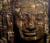 Buddhismus buddha religion, Malerei, Figural
