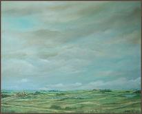 Mecklenburg, Landschaft, Malerei