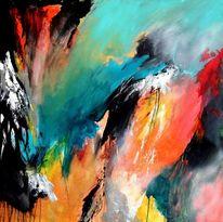 Moderne kunst, Zeitgenössische kunst, Farben, Abstrakter expressionisumus