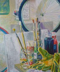 Stillleben, Malerei, Werkstatt