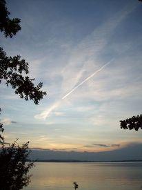 See, Himmel, Wolken, Fotografie