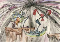 Tuschmalerei, Wesen, Reise, Aquarellmalerei