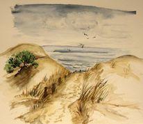 Sand, Meer, Dünen, Landschaft