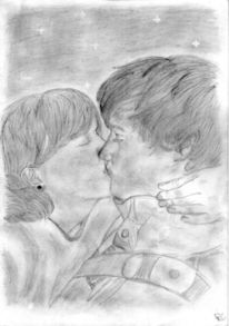 Junge, Zeichnung, Zeichnungen