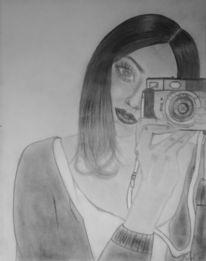 Kamera, Mädchen, Fotografie, Fotoapparat