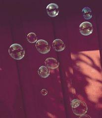 Seifenblasen, Fotografie, Stillleben