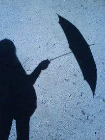 Schirm, Schatten, Fotografie