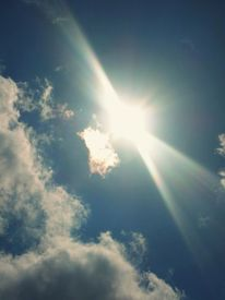Wolken, Sonne, Licht, Himmel