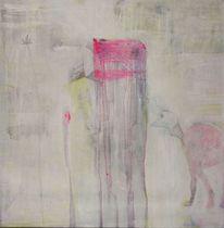 Vanessa uher, Abstrakt, Malerei, Fremde