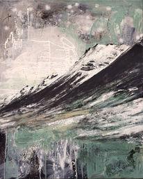 Landschaft, Kraft, Alpen, Freiheit