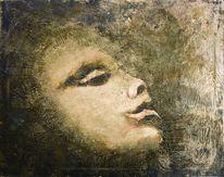 Menschen, Acrylmalerei, Pigmente, Vanessa uher