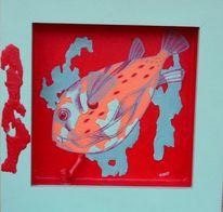Fisch, Tiere, Malerei