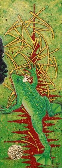 Frosch, Natur, Tiere, Fantasie