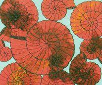 Acrylmaerlei, Schnecke, Malerei