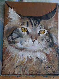 Portrait, Ölmalerei, Tiere, Malerei