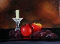 Obst, Ölmalerei, Stillleben, Malerei