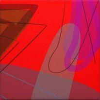 Skizze, Pastellmalerei, Farben, See