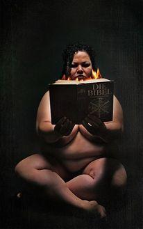 Akt, Frau, Darkart, Fotografie